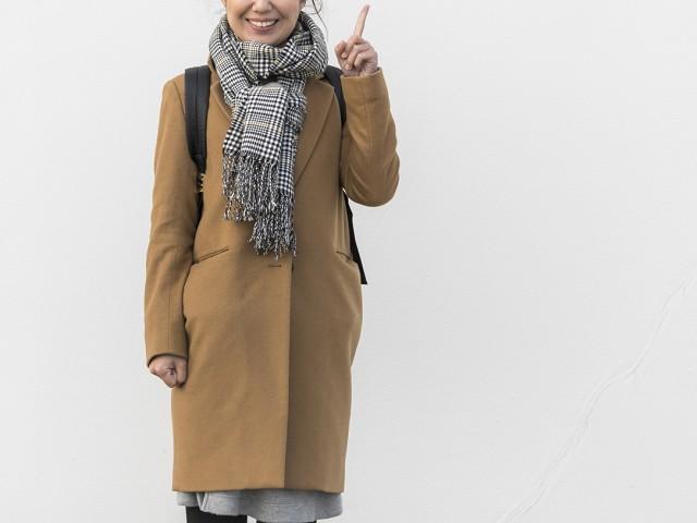 スカートに合わせたアウター選び!冬のコーデはこれで完璧!