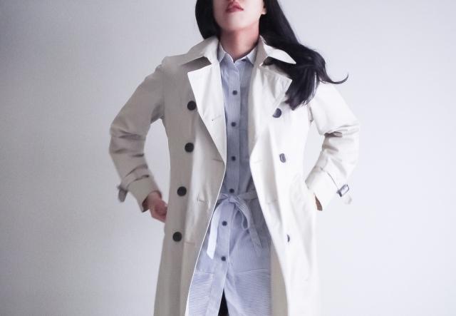コートは白色がおすすめ!秋冬のレディースコーデはこれで!