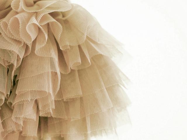 可愛いスカートのチュール!大人イメージの付け方はあるの?
