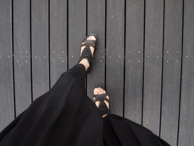 ロング丈スカートと靴のお洒落な合わせ方でコーデを決める!