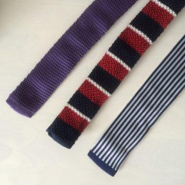 ニットネクタイを上手に使ったお洒落なメンズの着こなし術!