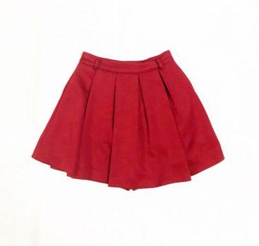 スカートのウエストがきつい!簡単な出し方で鍵ホックを調節