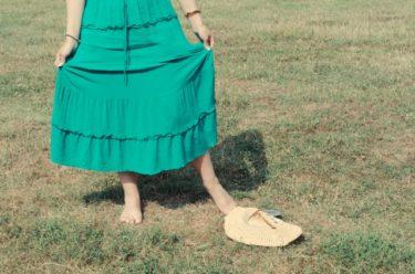 スカートにピッタリの緑はどんな色?明るく爽やかな春を演出