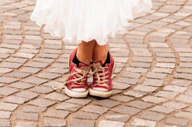 スカートに靴下を合わせても自然!30代に合うコーディネート