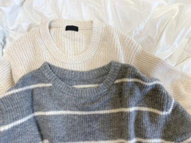 セーターは「サイズ大きめ」が良い?コーディネートもご紹介