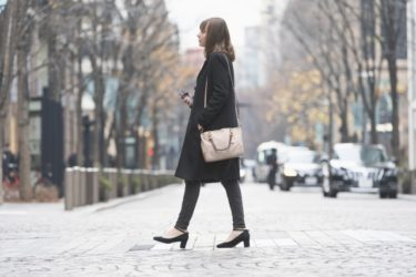 コート選びのポイントは「着丈」身長とのバランスが大切